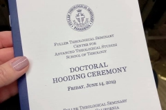 Hooding Program