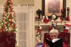 A little light reading of her son's dissertation! :)