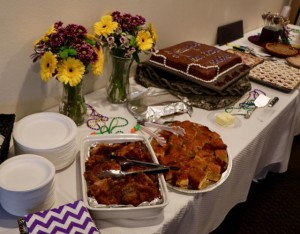 Thanks, Al, Anne, Terry, Mari and Alexis for the delicious food!